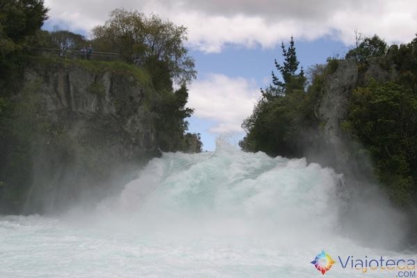 Huka Falls - Cachoeira Nova Zelândia 57