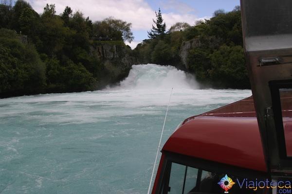 Huka Falls - Cachoeira Nova Zelândia 58