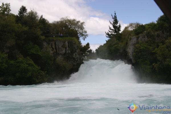 Huka Falls - Cachoeira Nova Zelândia 60