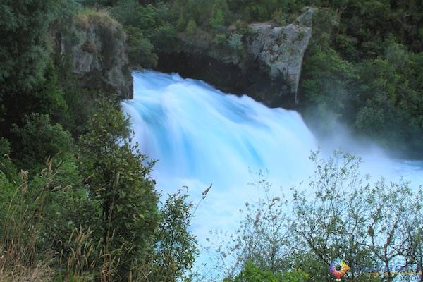 Huka Falls - Cachoeira Nova Zelândia 64