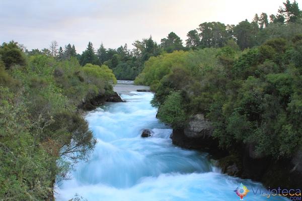 Huka Falls - Cachoeira Nova Zelândia 66
