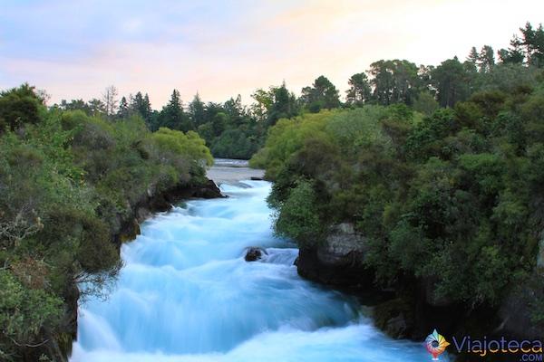 Huka Falls - Cachoeira Nova Zelândia 68