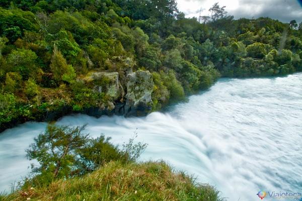 Huka Falls - Cachoeira Nova Zelândia 8