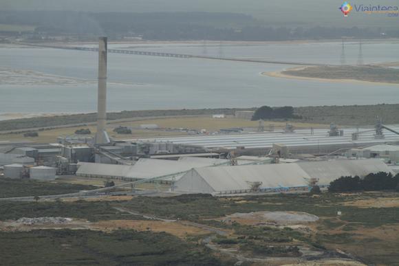 Tiwai Smelter em Bluff