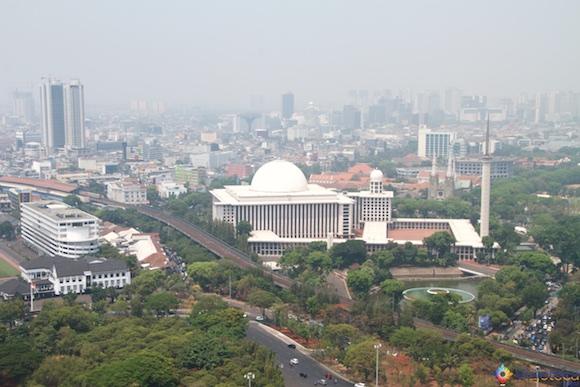 Istiqlal Mosque em Jakarta - A Maior mesquita do sudeste asiático 13