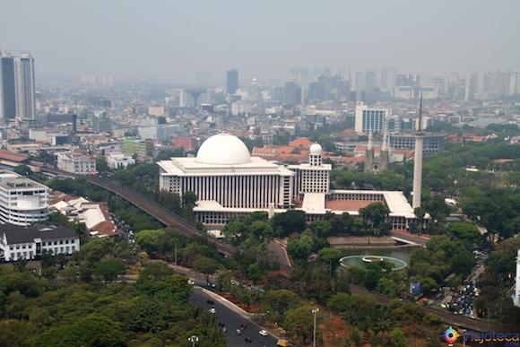 Istiqlal Mosque em Jakarta - A Maior mesquita do sudeste asiático 14