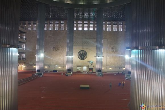 Istiqlal Mosque em Jakarta - A Maior mesquita do sudeste asiático 27