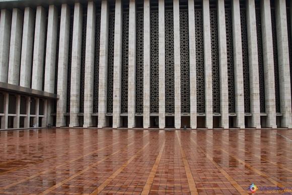 Mesquita Nacional da Indonésia em Jakarta