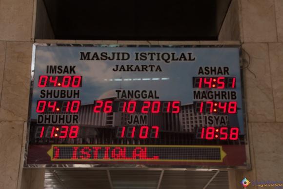 Istiqlal Mosque em Jakarta - A Maior mesquita do sudeste asiático 6
