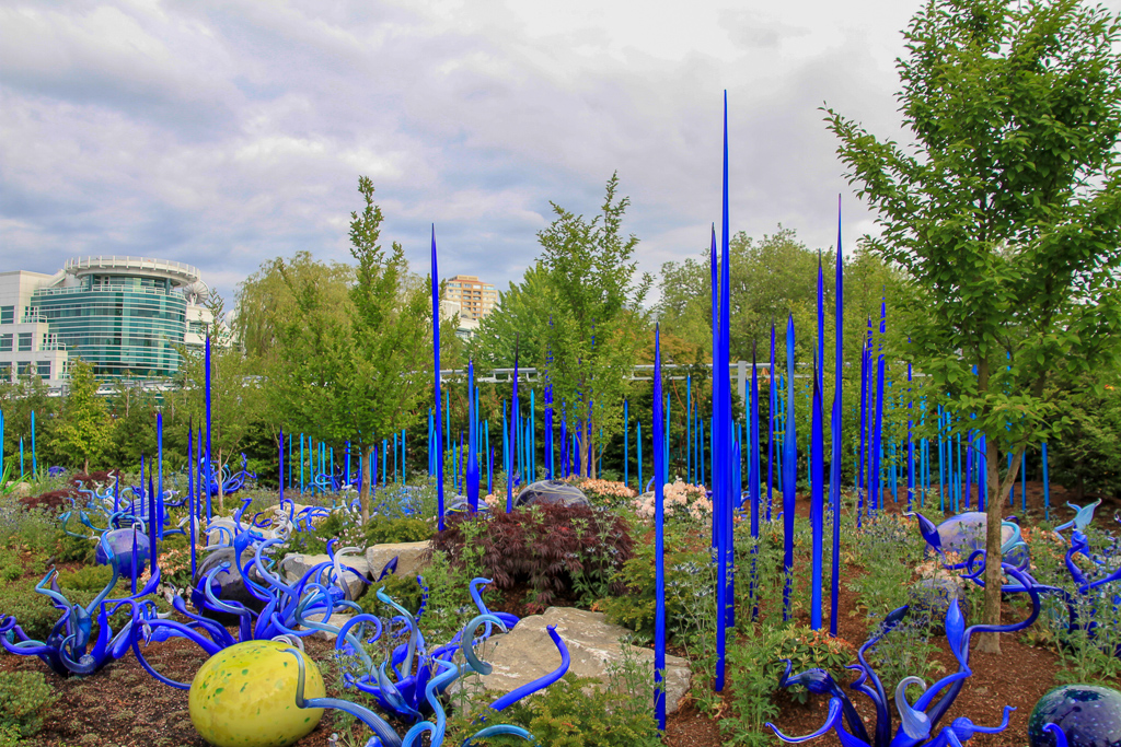 Jardim Futurista em Seattle