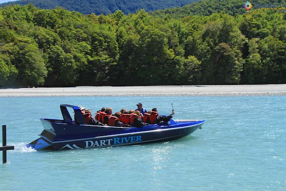 Jet Boat Dart River no Mt. Aspiring National Park (15)