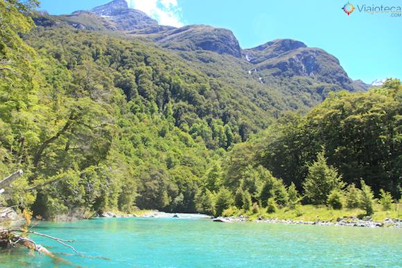 Jet Boat Dart River no Mt. Aspiring National Park (2)