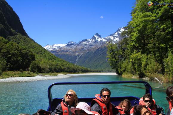 Jet Boat Dart River no Mt. Aspiring National Park (3)
