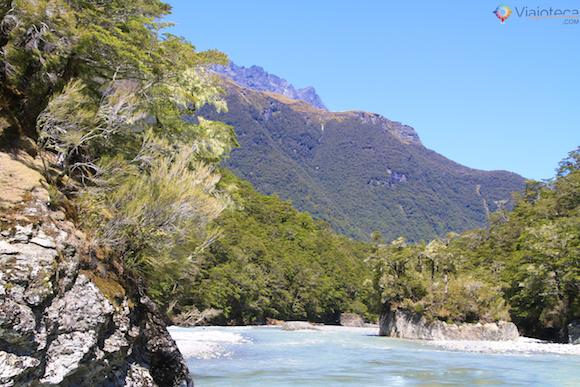 Jet Boat Dart River no Mt. Aspiring National Park (6)