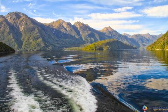 Lake Manapouri na Nova Zelândia 24
