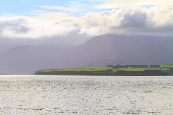 Lake Onoke em Wairarapa Coast