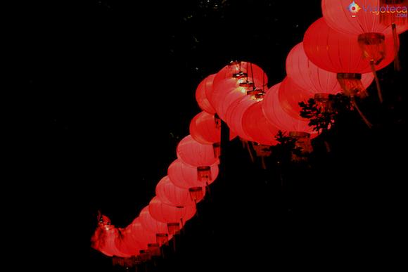 Lanternas Chinesas no Ano Novo Chinês em Auckland