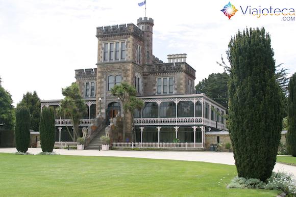 Larnach Castle o único castelo da Nova Zelândia (11)