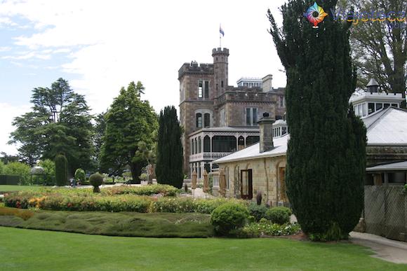 Larnach Castle o único castelo da Nova Zelândia (30)