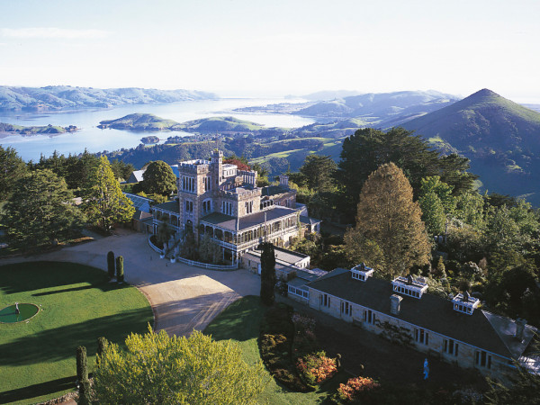 Castelo na Nova Zelândia