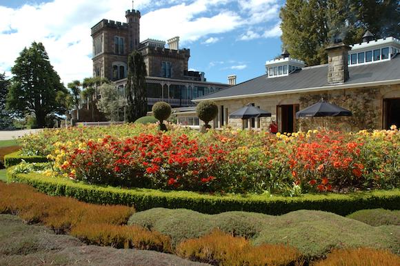 Larnach Castle o único castelo da Nova Zelândia (7)