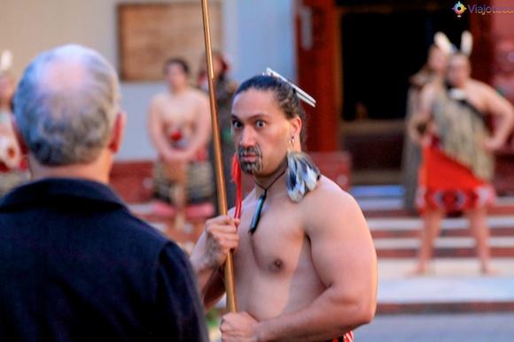 Maoris na Nova Zelândia - Te Puia 54