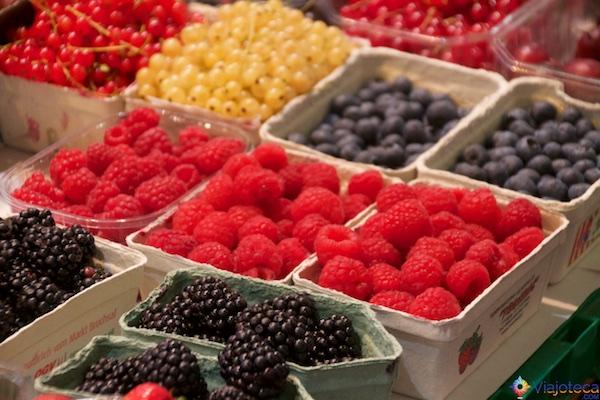 Frutas vermelhas Alemanha