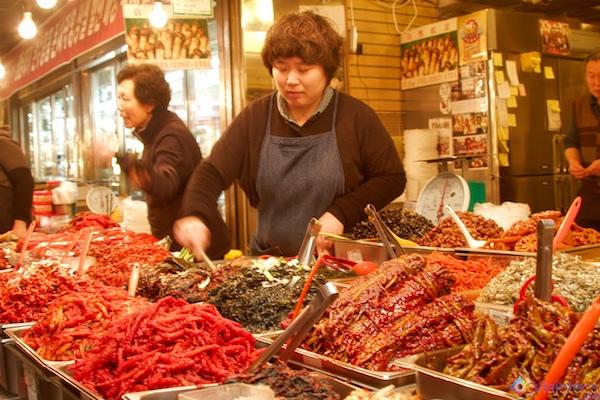 Mercados de Seul