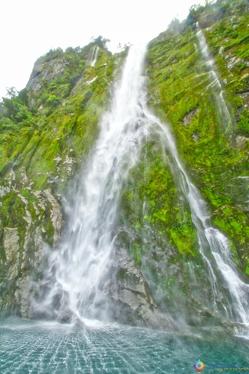 Stirling Falls Milford Sound