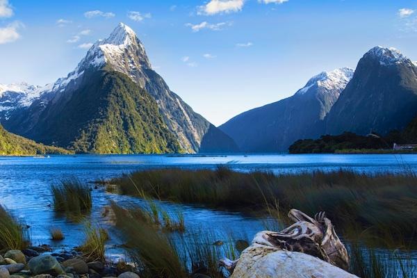 Milford Sound no Inverno © Divulgação Tourism New Zealand