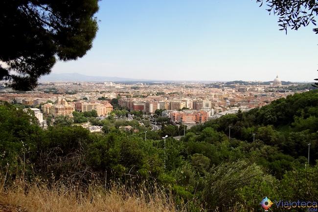 Monte Mario em Roma