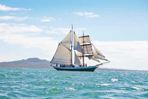 Breeze: Uma das embarcações do museu Marítimo de Auckland
