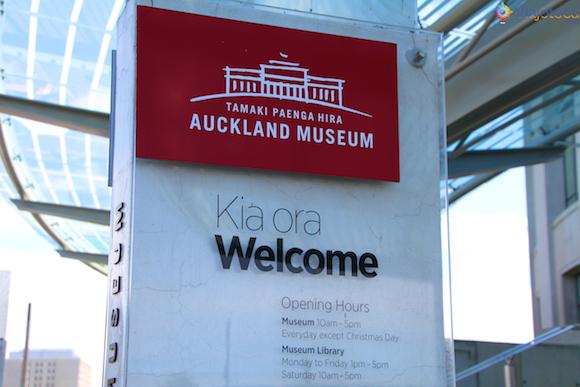 Museu de Auckland na Nova Zelândia (1)