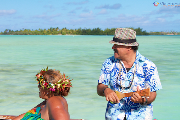 Aitutuaki nas Ilhas Cook