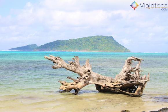 Namua Island em Samoa