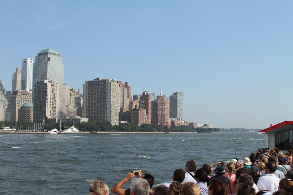 Navegando ao redor de Nova York