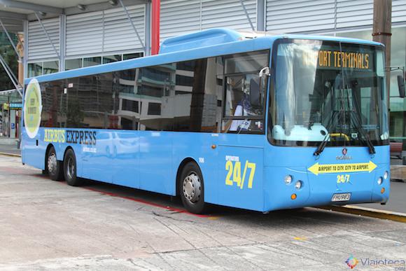 Onibus para o Aeroporto de Auckland