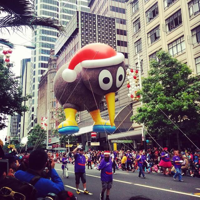 Parada Natal em Auckland