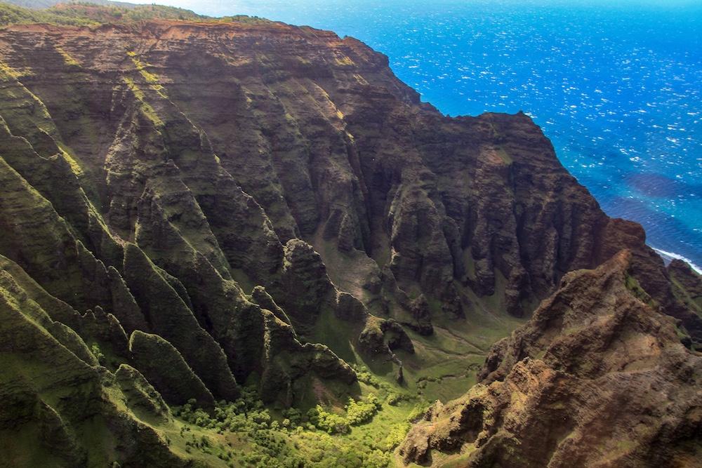 Passeio de Helicóptero em Kauai no Hawaii
