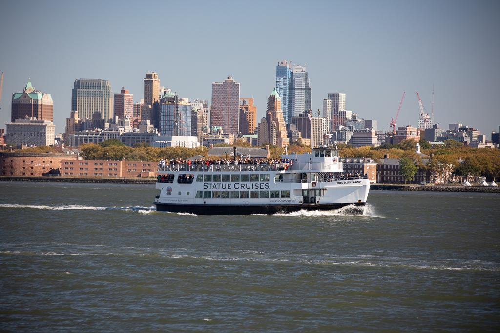 Passeio de barco ao redor de Manhattan