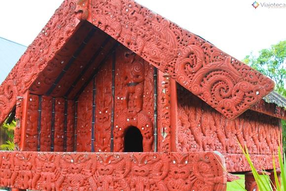 Pataka Maori – Local onde os maoris armazenavam a comida