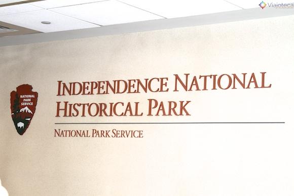 Parque Histórico Nacional da Independência em Philadelphia