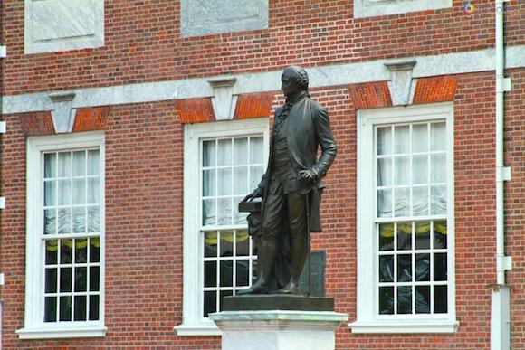 General George Washington no Independence Hall
