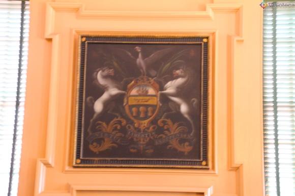 Brasão da Suprema Corte da Pennsylvania no Independence Hall