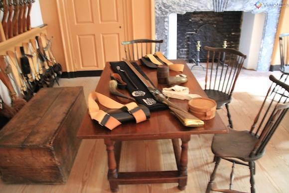 Armas no Independence Hall