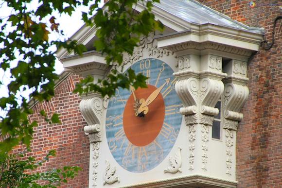 Relógio no Independence Hall
