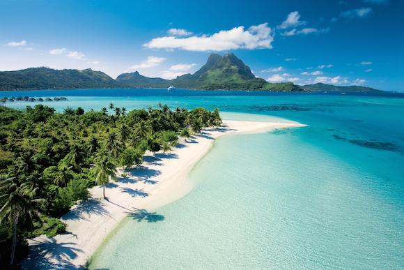 Praia privativa cruzeiro Bora Bora