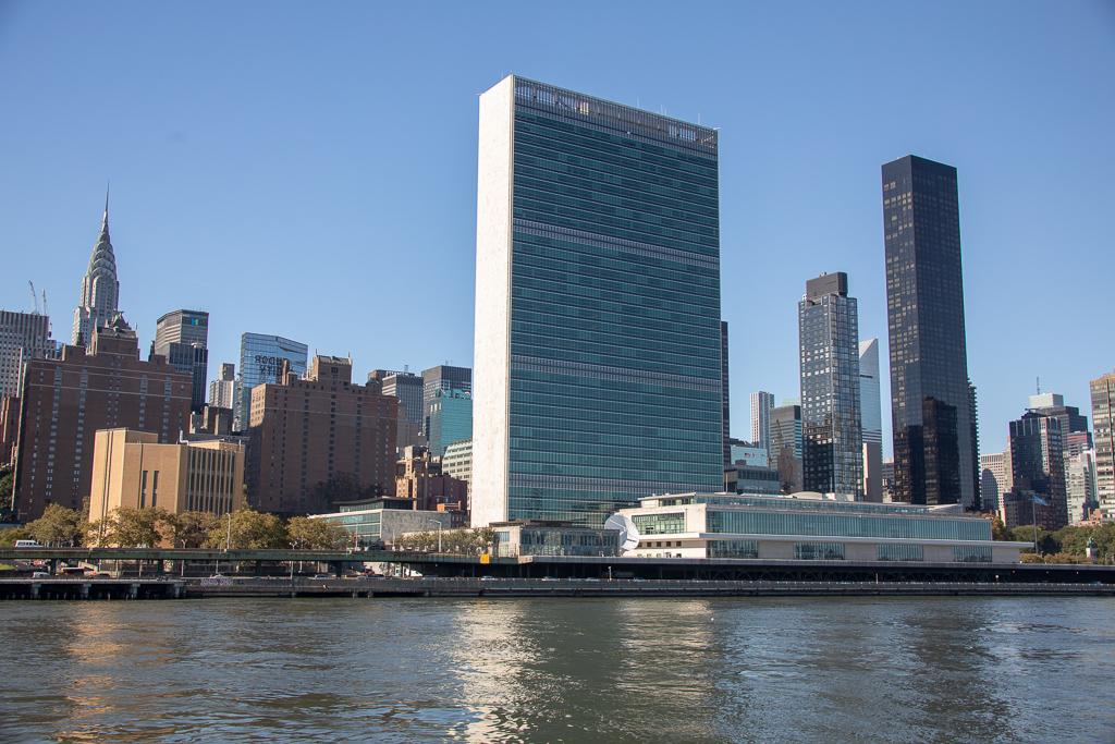 Predio da ONU em Nova York