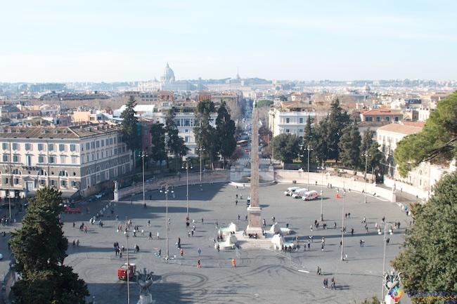 Roma do alto