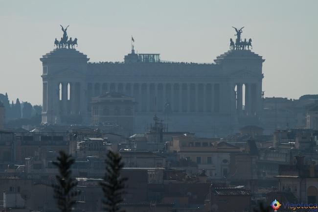 Roma vista do alto Vitorio Emanuelle